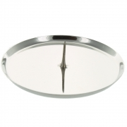 Wholesale Silver Candle Stand with Spike
