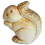 ceramic squirrel