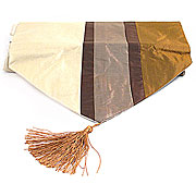 Wholesale Striped Table Runner - Brown