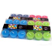 summer bright tealights assorted 1