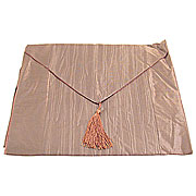 Wholesale Crushed Silky Table Runner - Brown