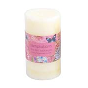 temptations flower candle medium lilac 1