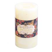 temptations flower candle med tulip 1
