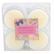 temptations flower mini candles lilac1