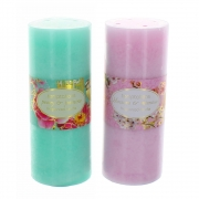 Wholesale Bird and Flower Large Pillar Candle