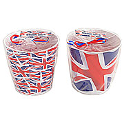 Wholesale Union Jack Candle in Tin - Medium