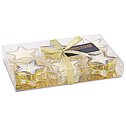 Wholesale gold wax filled stars