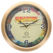 Wild Berry Battery Operated Wall Clock