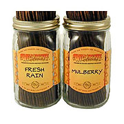 wild berry incense jars