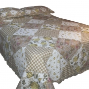 Wholesale Yellow Rose Quilted Throw