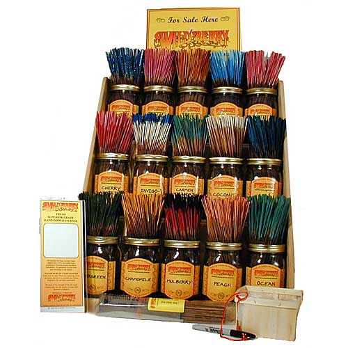 Wholesale Wild Berry Incense Package 2