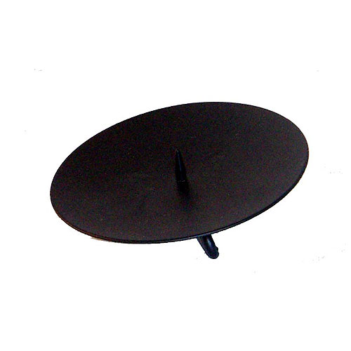 Wholesale Candle Holders Black Metal Spike Candle Stand