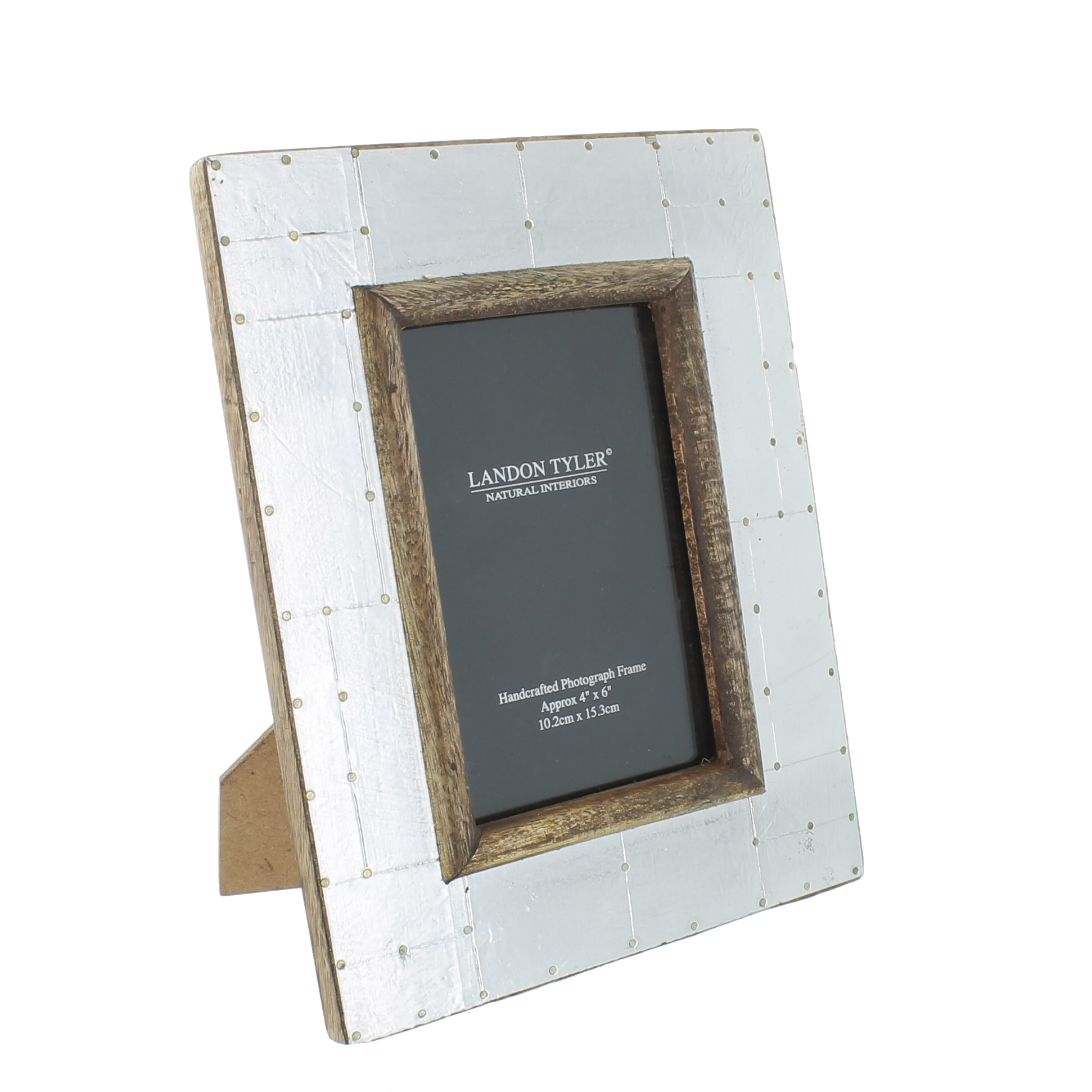 Wholesale Wooden Picture Frame With Metal Small